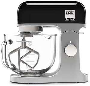 Kenwood kmix with glass bowl Black, Red or white available - £249.00 @ Amazon