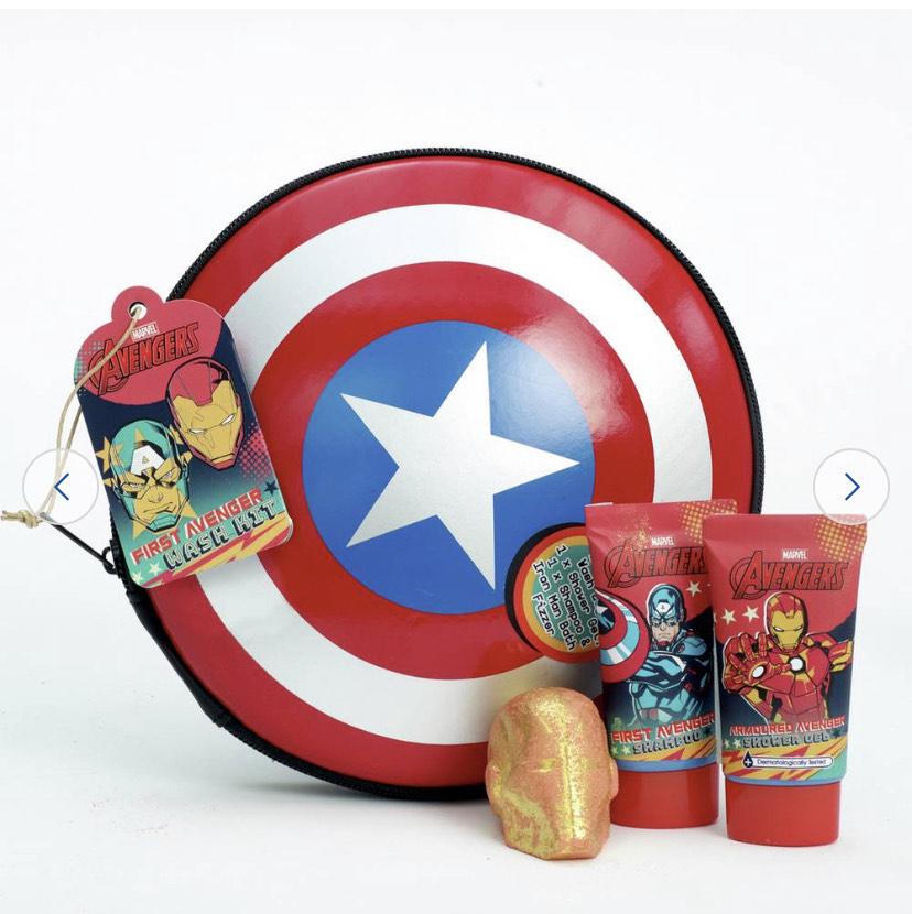 Marvel Avengers Captain America Shield Washbag £5.99 + Free C&C @ Argos