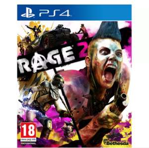 Rage 2 PS4 £8.99 free click and collect at Argos