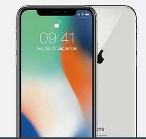 Apple iPhone X 64GB Unlocked Smartphone In Good Refurbished Condition Silver - £279.99 With Nectar Code @ Music Magpie / Ebay