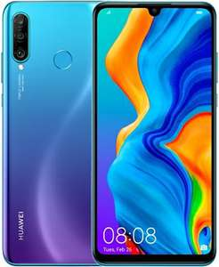 Huawei P30 Lite Dual-Sim 6GB+256GB Peacock Blue, EE B Condition Smartphone - £145 Delivered @ CeX