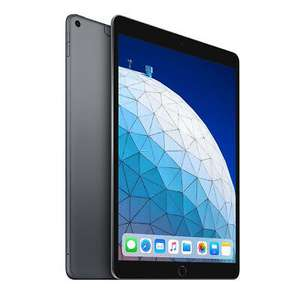 """Apple iPad Air (2019) 10.5"""" 64GB Wi-Fi + Cellular Network Unlocked - Space Grey - £445.59 delivered @ foniacs / eBay"""