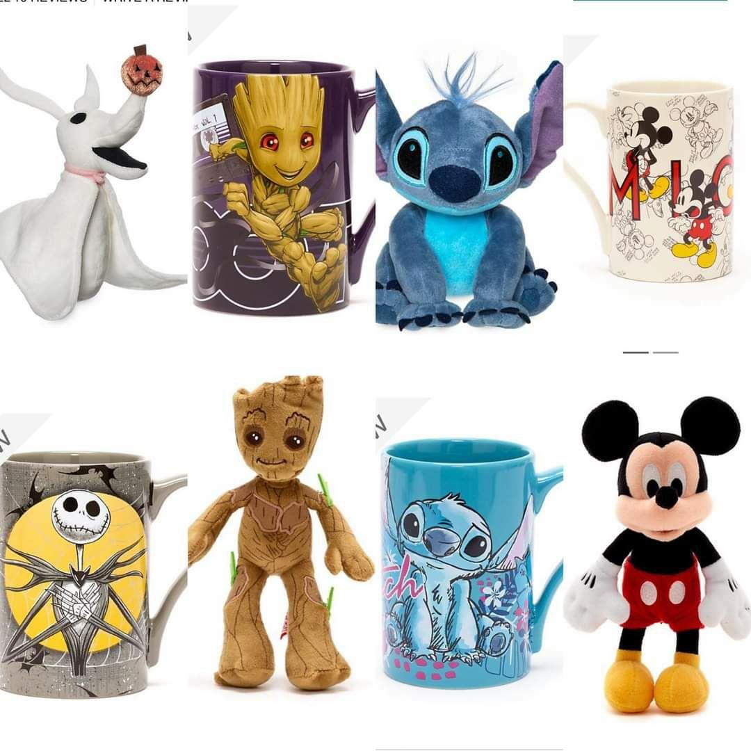 Disney Mug & Bean Bag Plush (includes Stitch/Olaf/Mickey/Minnie/Simba) is £12 (+£3.95 Delivery) @ shopDisney