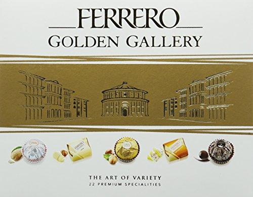 Ferrero Chocolate Golden Gallery, 22 Assorted Chocolates, 205 g £7.49 + £4.49 NP @ Amazon