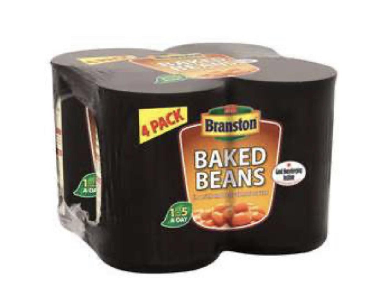 Branston Baked 4 × 410g Multipacks are 2 for £3 @ Iceland