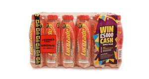 Lucozade Energy 380ml x 24 only £2 at Farmfoods Victoria Rd Glasgow