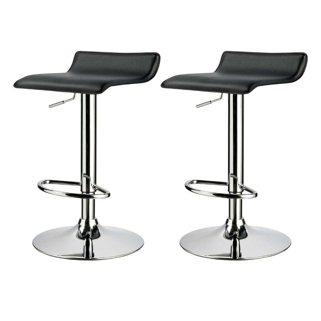 B&Q Daphne Black Bar stool, Pack of 2 £20 instore at B&Q (found Hedge End)