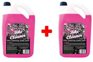 Muc Off Twin Pack 5 Litre (10 Litres) Motorcycle|Motocross|MX|Off Road Cleaner £21.67 at eBay DemonTweeks