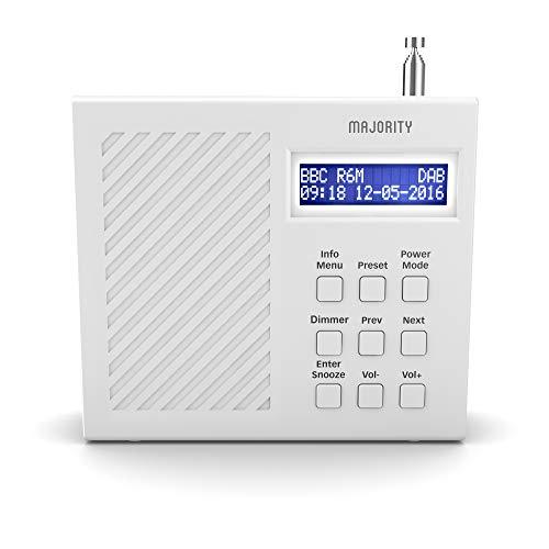 Majority Arbury II DAB/DAB+ Digital + FM Portable Radio,Rechargeable 6hr Battery,Dual Alarm Clock £20 Sold by iZilla & Fulfilled by Amazon