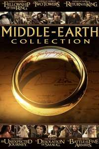 4K Dolby Vision - The Middle Earth Collection (Lord Of The Rings & The Hobbit) £29.99 iTunes Store