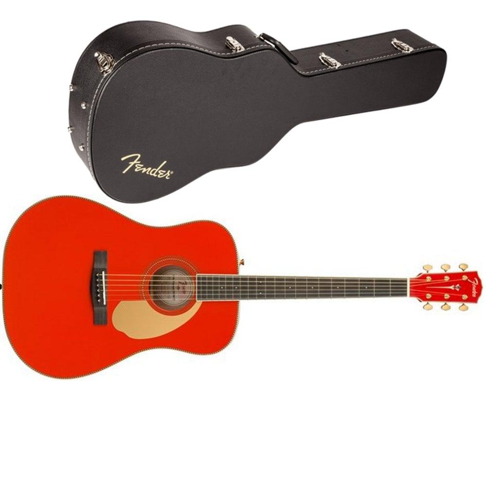 Fender Paramount PM-1E dreadnought electro acoustic guitar (Fiesta Red) £359.55 @ Bax-shop