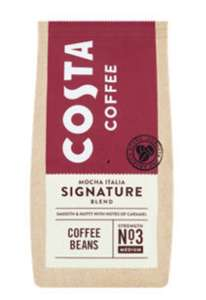 Costa Coffee Mocha Italia Signature Blend Coffee 200g Beans £2 at Asda