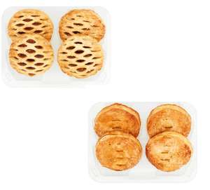 Tesco Puff Pastry / Lattice Top Puff Pastry Mince Pie 4 Pack - Any 2 Packs for £1.50 @ Tesco
