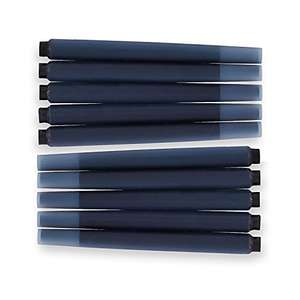 PARKER QUINK Long Fountain Pen Ink Refill Cartridges (10 Pack) £1.99 (+£4.49 NP) Delivered @ Amazon