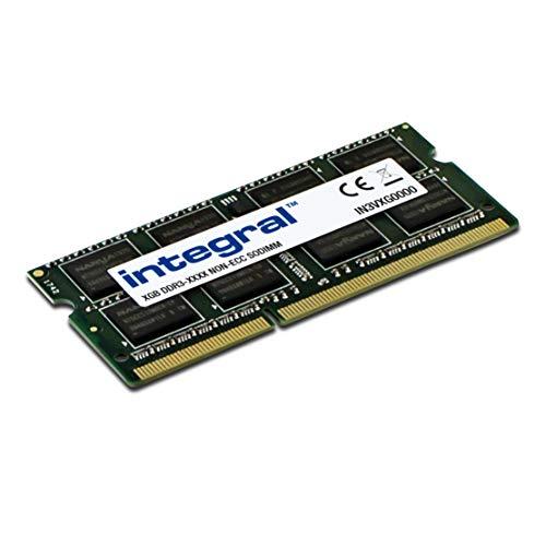 Integral 4GB DDR3 RAM 1600MHz SODIMM Laptop/Notebook PC3-12800 memory £15.99 prime / £20.48 nonPrime Amazon