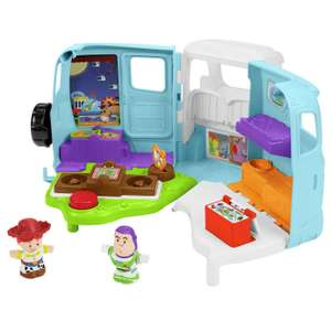 Fisher-Price Little People Disney Toy Story 4 Jessie's RV £17.00, click & collect @ Argos