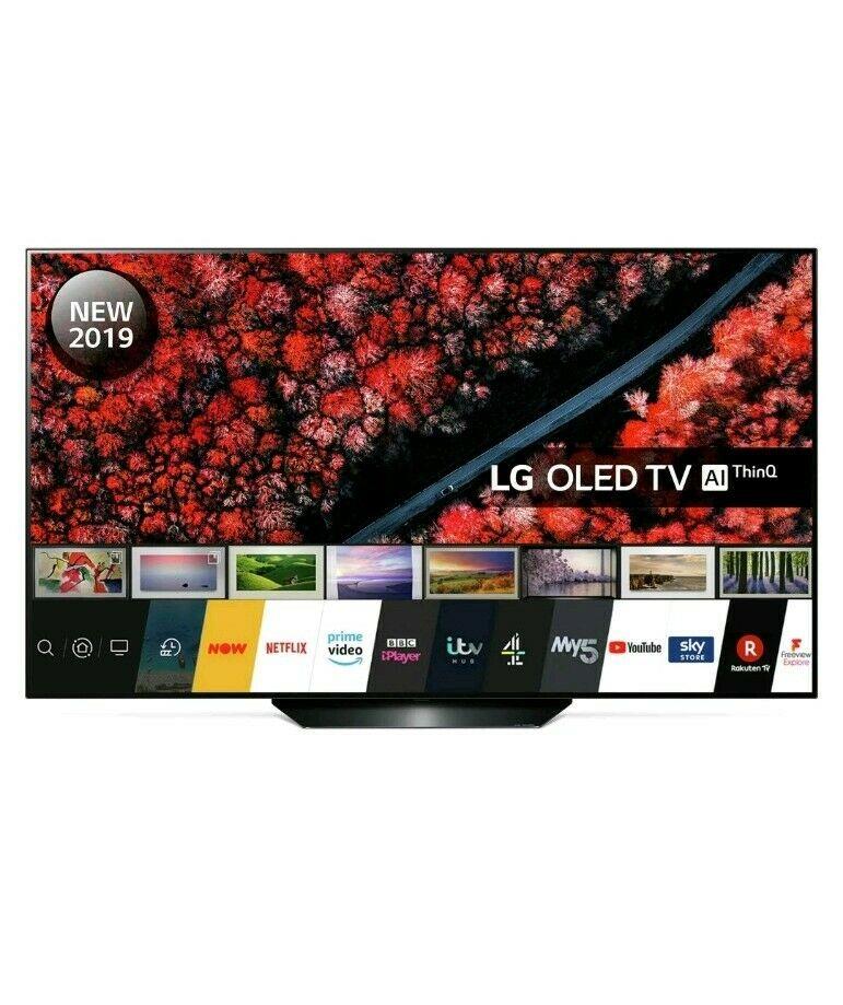 LG OLED55B9PLA 55 Inch OLED 4K Ultra HD Smart TV at Costco - £949.99