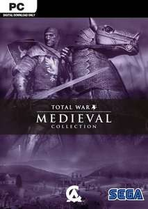 Medieval: Total War - Collection PC including Viking Invasion expansion pack £1.29 CDKeys