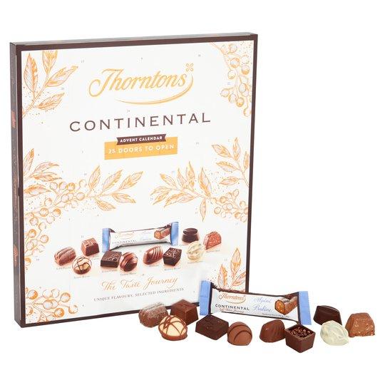 Thorntons Continental Chocolate Advent Calendar 298G £3.50 at Tesco