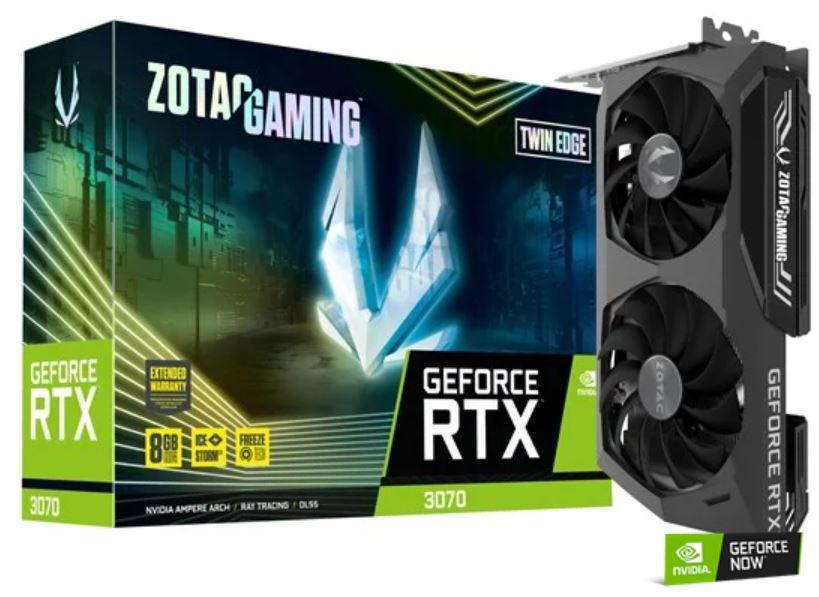 Zotac GeForce RTX 3070 Twin Edge £569.99 at CCLOnline