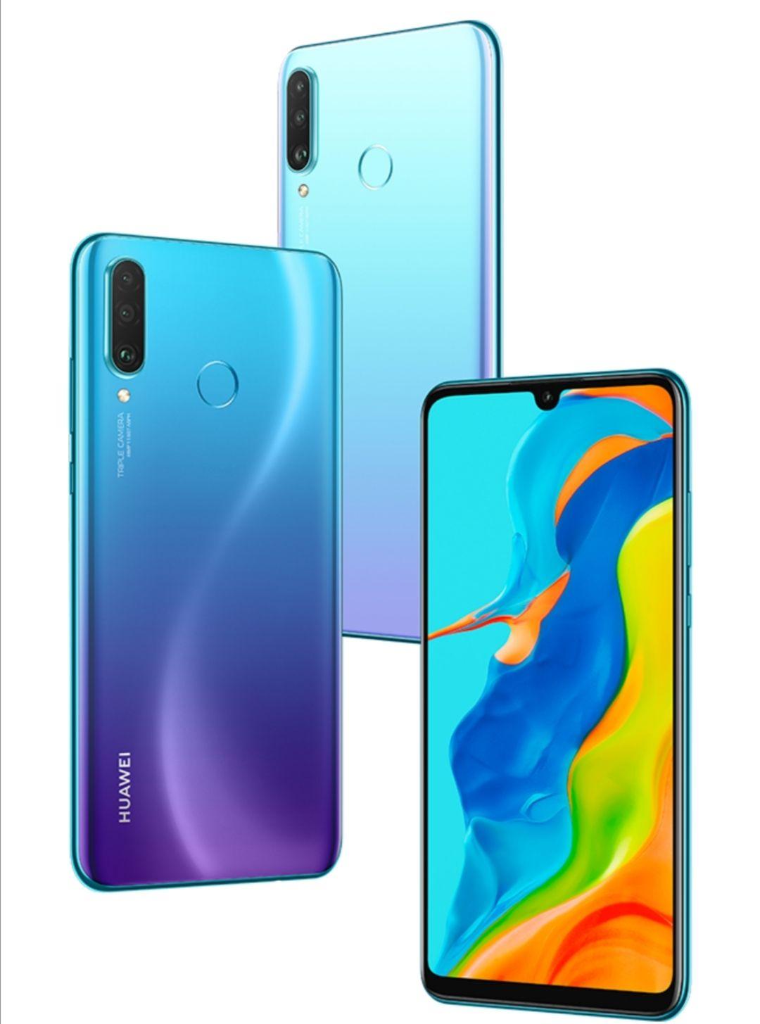 HUAWEI P30 Lite 256 GB 6 GB RAM Peacock Blue Smartphone - £179.99 With Code + More @ Huawei Store UK