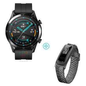 HUAWEI Watch GT 2 (46 mm) Smart Watch with HUAWEI Band 4e for £107.99 delivered (using code) @ Huawei