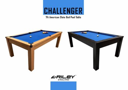 Riley Challenger Slate Pool Table - 7ft American Pool £599.99 @ Riley