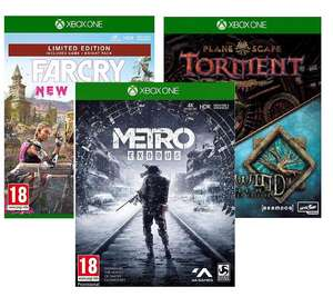Far Cry New Dawn Limited Edition/Metro Exodus/ Planescape Torment & Icewind Dale Enhanced Edition(Xbox One) £8.95 Each @ The Game Collection