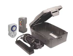 IP54 Weatherproof Outdoor Box Kit £21.49 Screwfix click & collect (limited stock)