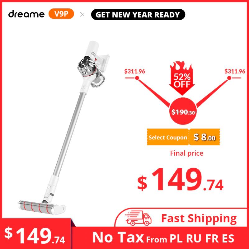 Dreame V9P Handheld Wireless Vacuum Cleaner £228.16 @ AliExpress MC TECH Store