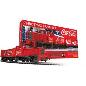 Hornby Coca Cola Christmas Train Set is £63.99 Delivered With Code @ I Want One of Those