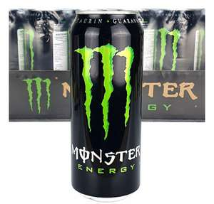 24 cans of Monster Energy various flavours 500ml £20 @ Yankee Bundles
