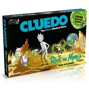 Cluedo Mystery Board Game - Rick and Morty Edition £16.79 Delivered using code @ IWOOT