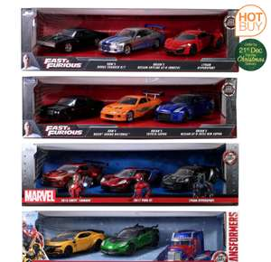 1:32 Scale Marvel Avengers, Transformers or Fast And Furious Free Rolling Die-Cast Vehicle Assortment - £16.99 @ Costco