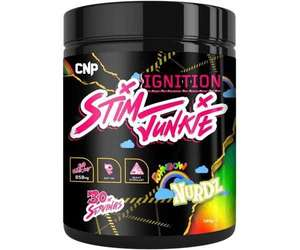 CNP Ignition Stim Junkie - Limited Edition 240g - £19.44 delivered using code @ Cardiffsportsnutrition