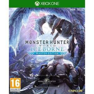 [Xbox One] Monster Hunter World: Iceborne Master Edition Inc Monster Hunter World & Iceborne Expansion - £19.95 @ The Game Collection