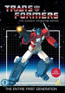 Transformers Classic Animated DVD complete G1 4 seasons 95 episodes 13 discs @ Movies&Games