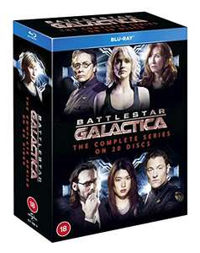 Battlestar Galactica Miniseries + Complete Series + Razor Blu-ray Box set - £25.58 @ Amazon