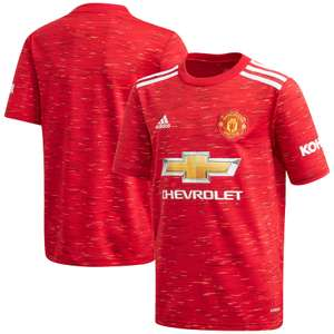 Manchester United Home Shirt 2020-21 - Kids £37.46 with code at Kitbag