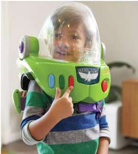 Disney Pixar Toy Story Buzz lightyear helmet and jet pack Now £20 with Free Click and collect from Argos