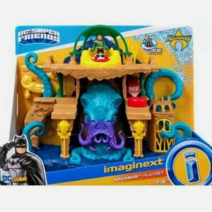 Imaginext Aquaman playset in store at Tesco Mansfield