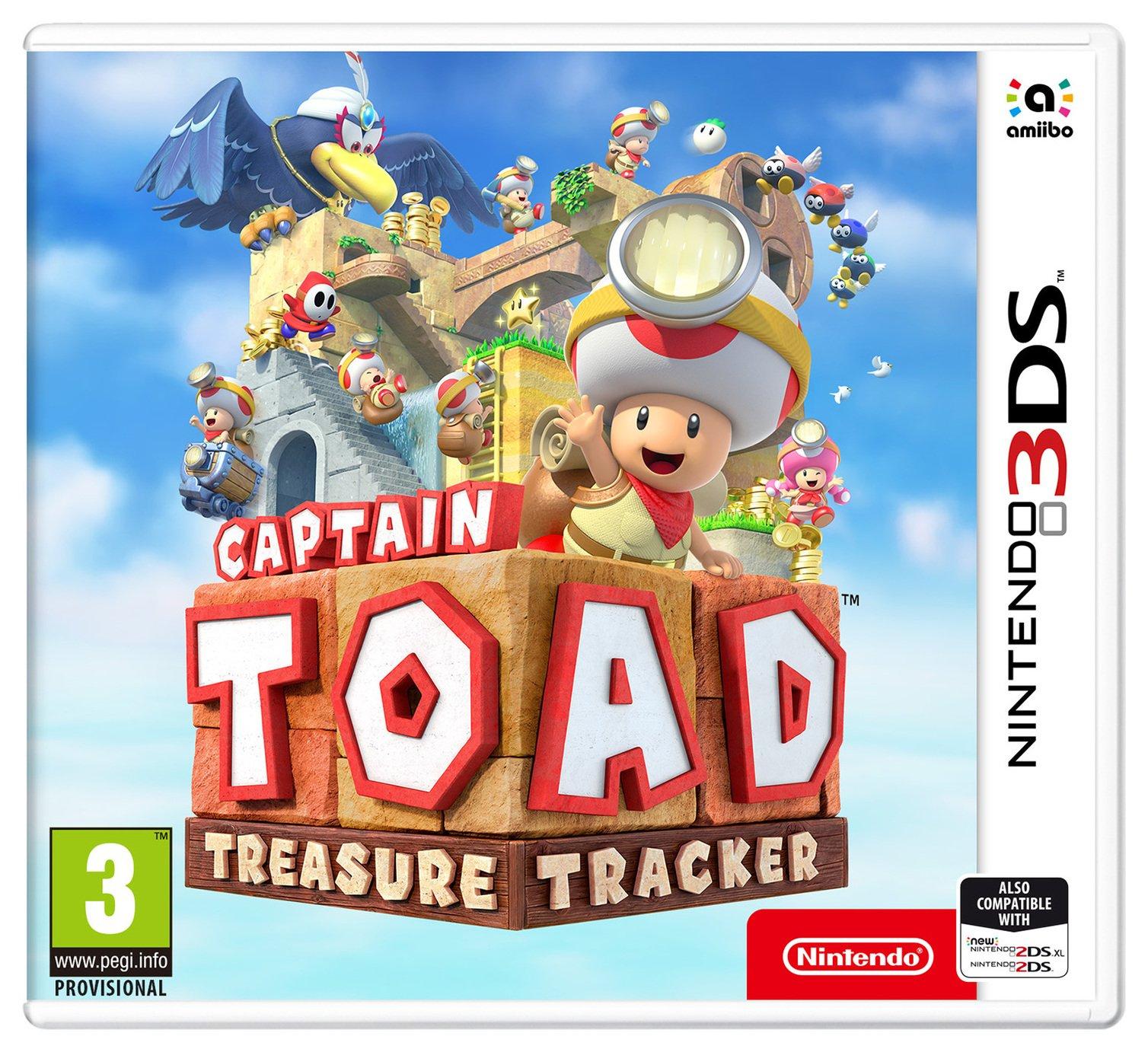 Captain Toad Treasure Tracker 3DS Game £7.99 Argos