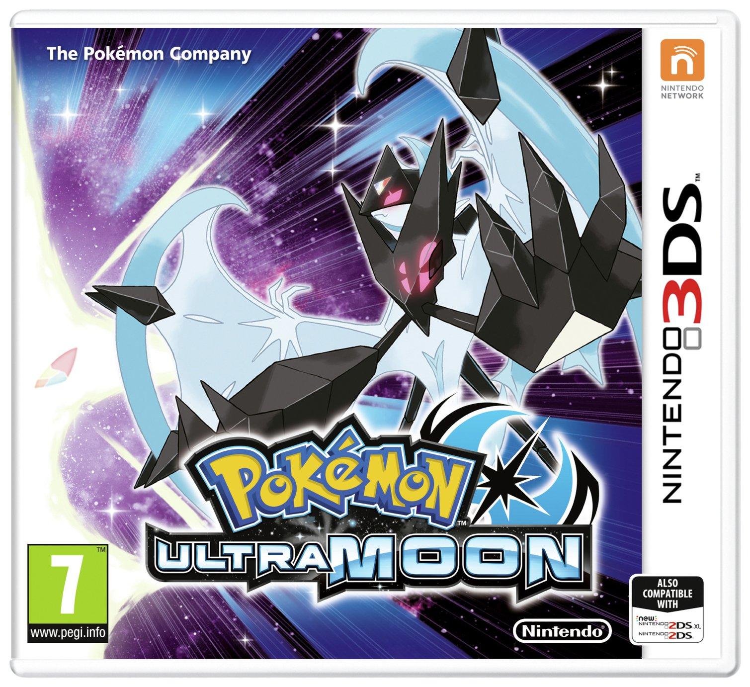 Pokemon: Ultra Moon Nintendo 3DS Game £14.99 at Argos c&c