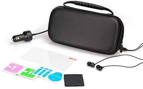iMW Starter Kit For Nintendo Switch Lite Case Black £5.80 (+£4.49 non-prime) Amazon