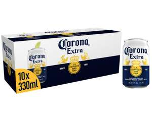 Corona Extra 10x pack 330ml cans - £5 instore @ Sainsbury's, Fosse Park (Leicester)