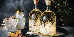 Snow globe gin in clementine and rhubarb - £18 instore @ Marks & Spencer, Truro (Cornwall)