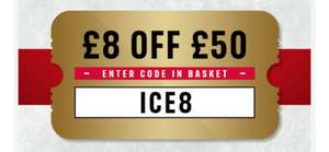 £8 off £50 spend - first orders @ Iceland