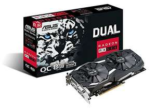 ASUS Radeon RX 580 Dual OC 8 GB Edition £165.37 @ Amazon