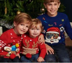 Save 25% on selected Christmas jumpers at Tesco F&F clothing instore