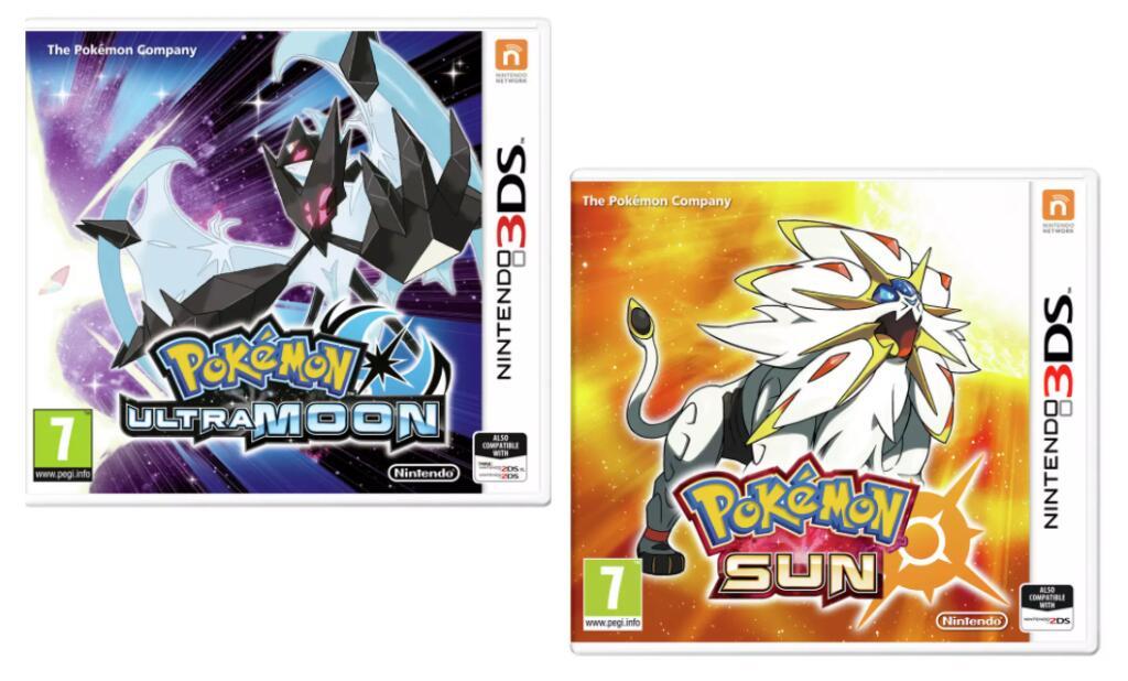 Pokemon: Ultra Moon or Pokemon Sun - Nintendo 3DS £12.99 each (Special offer in OP) @ Argos (Free C&C)